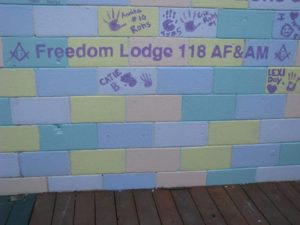 Freedom Lodge on The Wall in Lovettsville