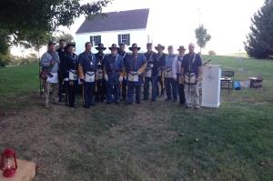 Members of Freedom Lodge 112 in uniform.