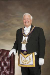 Jim Litten, Masons regalia, masons garb,