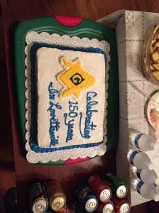 150 cake