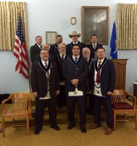 2016 Freedom Lodge Officers