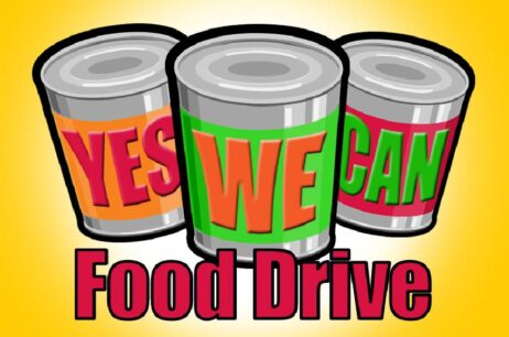 Support the local Pantry – canned food drive